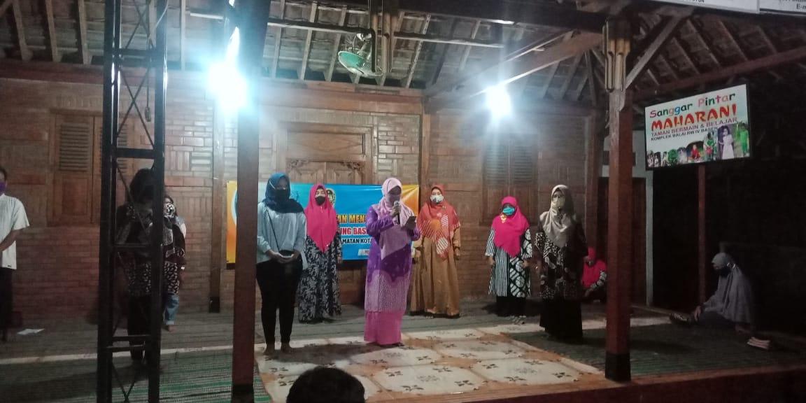 Deklarasi Relawan Mengajar Maharani Kampung Basen  Kelurahan Purbayan