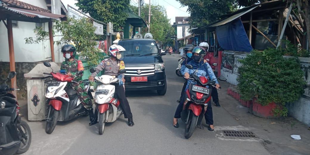 Patroli Kampanye Wajib Memakai Masker