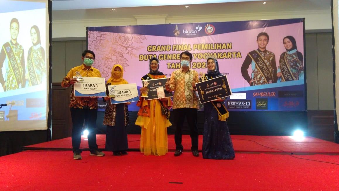 BKR Asti Jingga  RW 5  Kelurahan Purbayan Juara I Tingkat Propinsi DIY