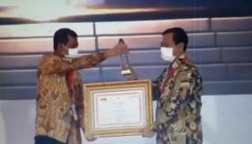 Penyerahan Penghargaan 21 Top Inovasi Penanganan Covid 19 Untuk Pemerintah Kota Yogyakarta
