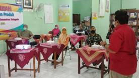 Pelatihan Manajemen Produk Kelurahan Purbayan