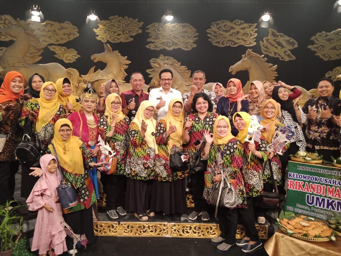 Bapak Wakil Walikota Yogyakarta bersama TP PKK Kelurahan Purbayan
